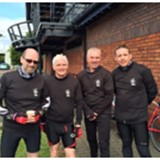 ANSEC Cycling Team raise £700 for charity